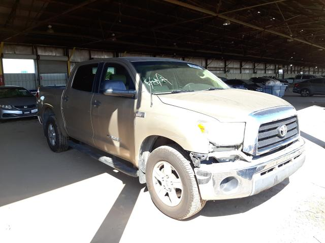 Salvage cars for sale from Copart Phoenix, AZ: 2008 Toyota Tundra CRE