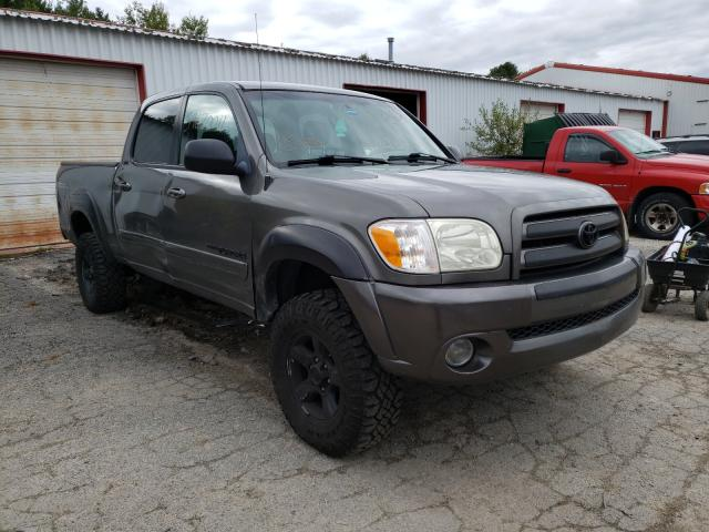 Salvage cars for sale from Copart Lyman, ME: 2005 Toyota Tundra DOU