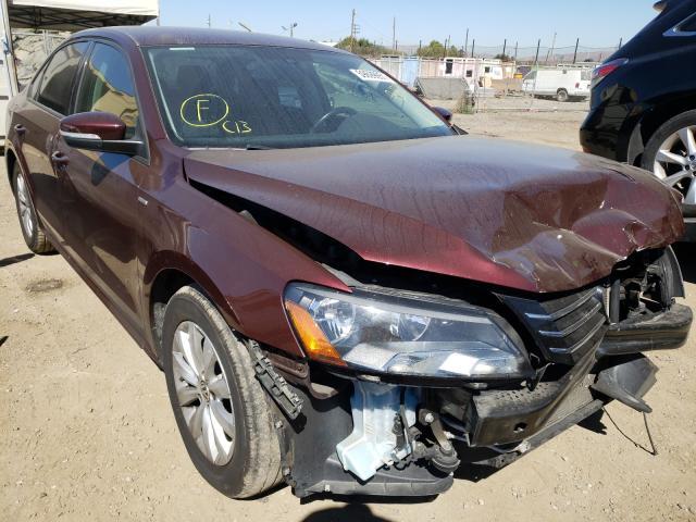 Salvage cars for sale from Copart San Martin, CA: 2014 Volkswagen Passat S