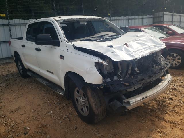 Salvage trucks for sale at Austell, GA auction: 2013 Toyota Tundra CRE