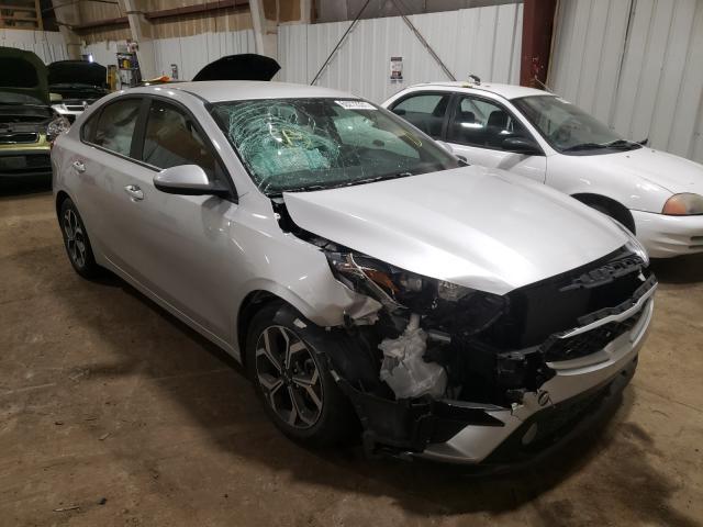 KIA salvage cars for sale: 2019 KIA Forte FE