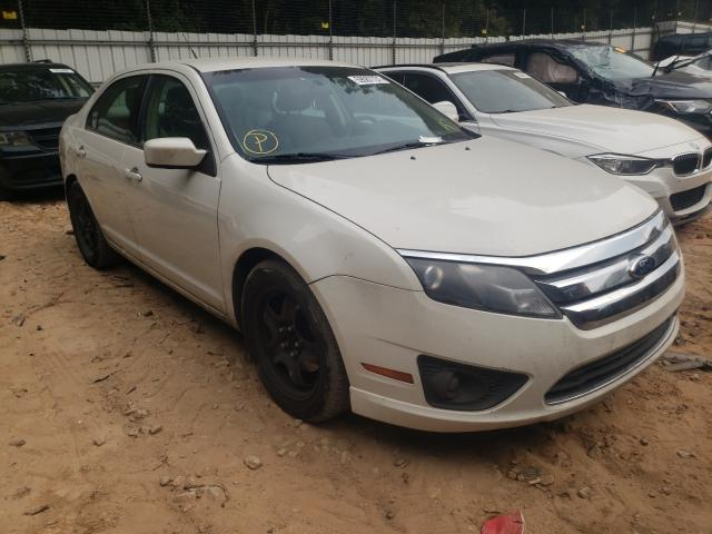 Salvage cars for sale from Copart Austell, GA: 2011 Ford Fusion SE