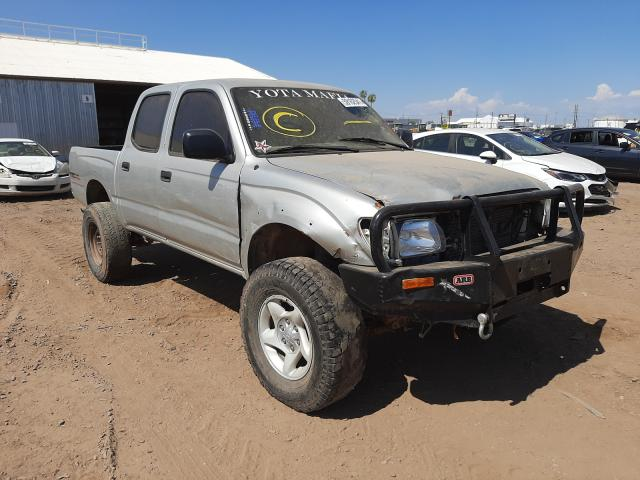 Salvage cars for sale from Copart Phoenix, AZ: 2003 Toyota Tacoma DOU