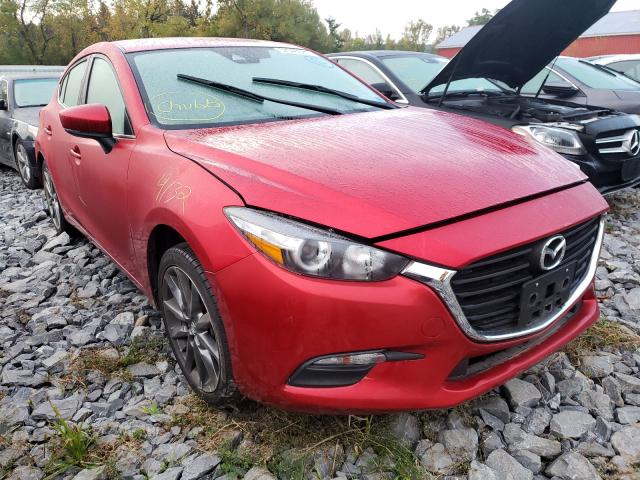 Salvage cars for sale from Copart Albany, NY: 2018 Mazda 3 Touring