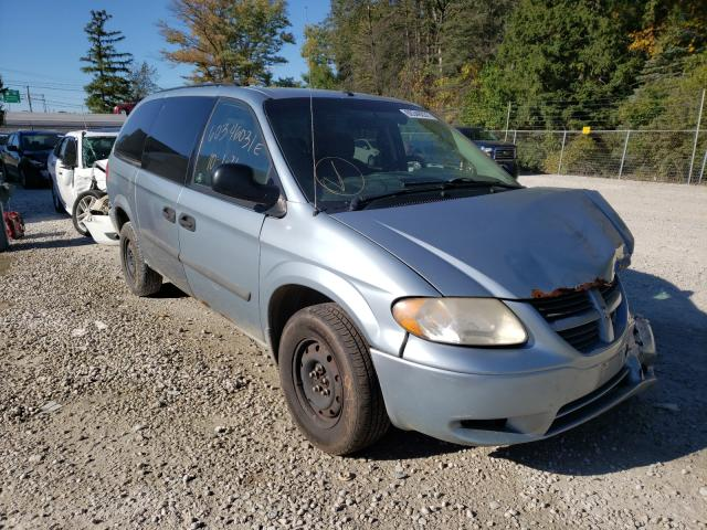 Salvage cars for sale from Copart Northfield, OH: 2006 Dodge Grand Caravan