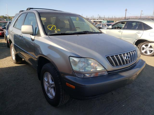 Salvage cars for sale from Copart San Martin, CA: 2001 Lexus RX 300