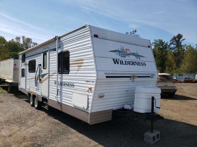 Fleetwood Wilderness salvage cars for sale: 2004 Fleetwood Wilderness