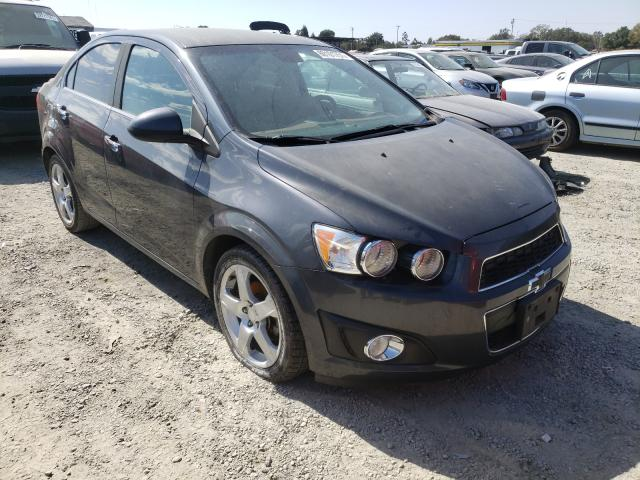 Salvage cars for sale from Copart Antelope, CA: 2013 Chevrolet Sonic LTZ