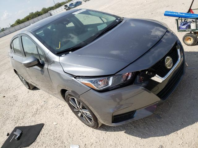 Salvage cars for sale from Copart San Antonio, TX: 2021 Nissan Versa SV