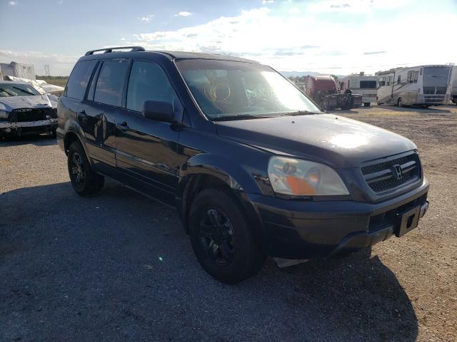 Salvage cars for sale at Tucson, AZ auction: 2003 Honda Pilot EXL