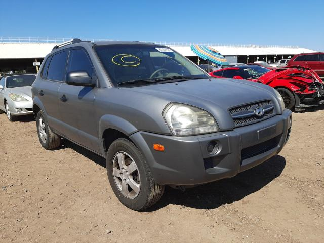 Salvage cars for sale from Copart Phoenix, AZ: 2007 Hyundai Tucson GLS