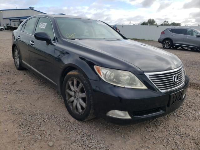 Salvage cars for sale from Copart Central Square, NY: 2007 Lexus LS 460