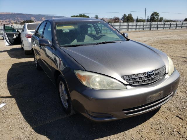 Salvage cars for sale from Copart San Martin, CA: 2003 Toyota Camry LE