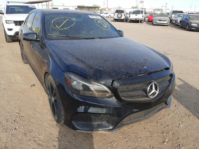 Salvage cars for sale from Copart Phoenix, AZ: 2016 Mercedes-Benz E 350