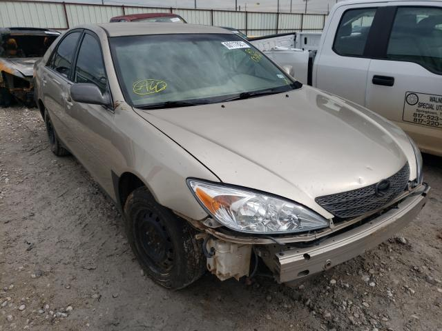 Salvage cars for sale from Copart Haslet, TX: 2002 Toyota Camry LE