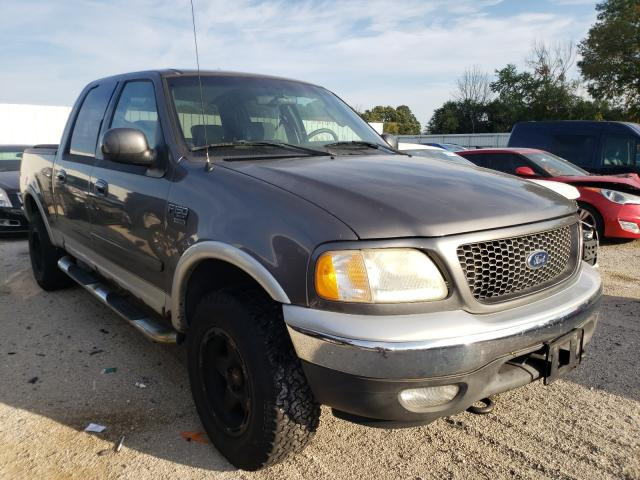 Salvage cars for sale from Copart Milwaukee, WI: 2003 Ford F150 Super