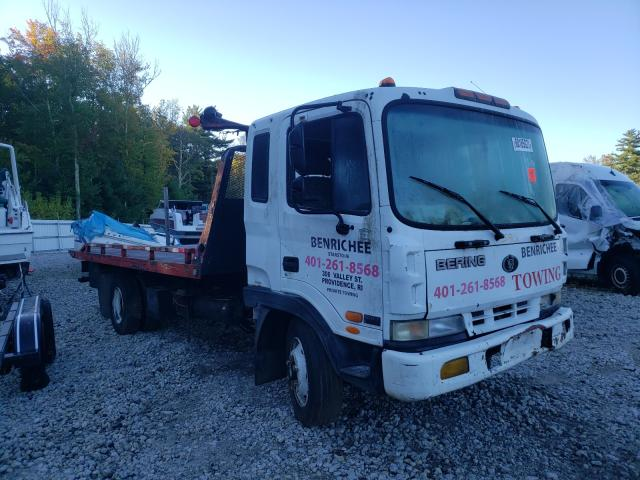 Salvage trucks for sale at Warren, MA auction: 1999 Bering MD23M Cab