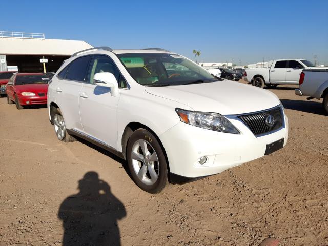 Salvage cars for sale at Phoenix, AZ auction: 2010 Lexus RX 350