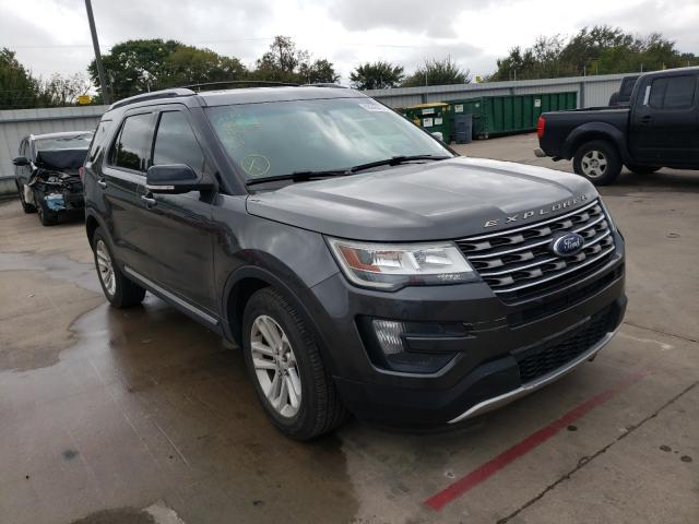 Vehiculos salvage en venta de Copart Wilmer, TX: 2016 Ford Explorer X