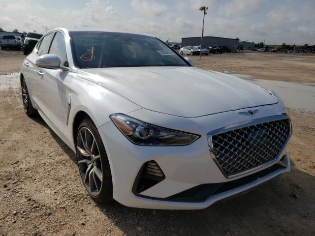 Genesis salvage cars for sale: 2021 Genesis G70 Sport