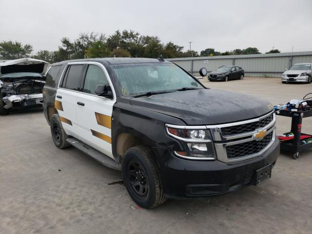 Vehiculos salvage en venta de Copart Wilmer, TX: 2017 Chevrolet Tahoe Police