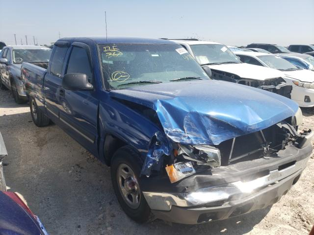 Salvage cars for sale from Copart Haslet, TX: 2004 Chevrolet Silverado