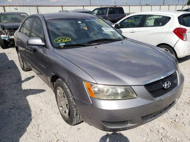 Salvage cars for sale from Copart Haslet, TX: 2007 Hyundai Sonata GLS