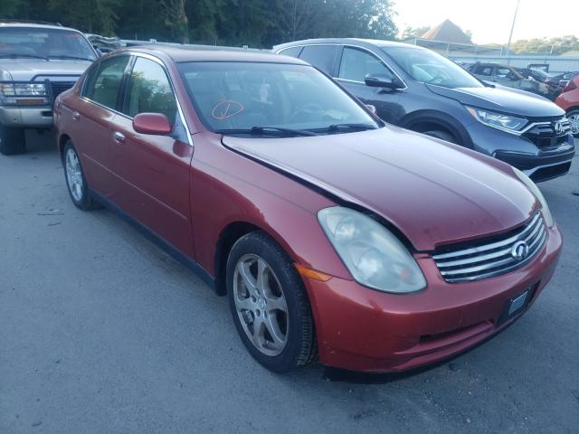 Salvage cars for sale from Copart Glassboro, NJ: 2003 Infiniti G35