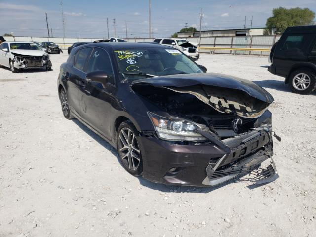 Salvage cars for sale from Copart Haslet, TX: 2014 Lexus CT 200