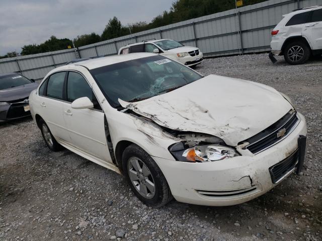 Salvage cars for sale at Prairie Grove, AR auction: 2009 Chevrolet Impala 1LT
