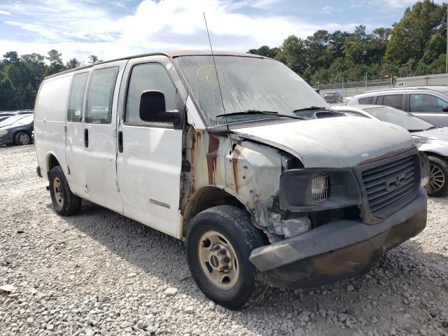 Salvage trucks for sale at Ellenwood, GA auction: 2006 GMC Savana G25