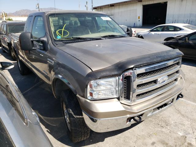Salvage cars for sale from Copart Sun Valley, CA: 2005 Ford F250 Super