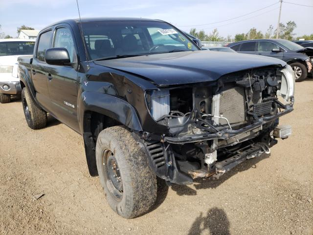 Salvage cars for sale from Copart Pekin, IL: 2010 Toyota Tacoma DOU
