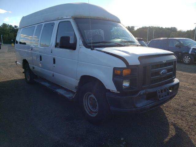 Salvage trucks for sale at East Granby, CT auction: 2008 Ford Econoline