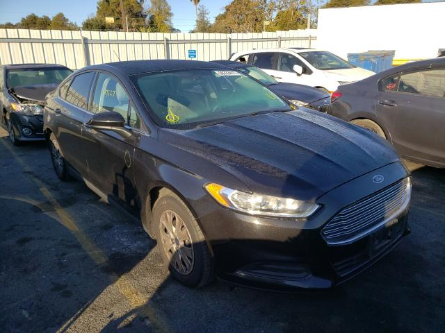 Salvage cars for sale from Copart Vallejo, CA: 2014 Ford Fusion S