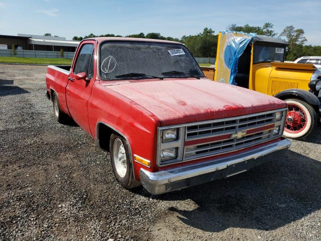 Salvage cars for sale from Copart Jacksonville, FL: 1987 Chevrolet R10