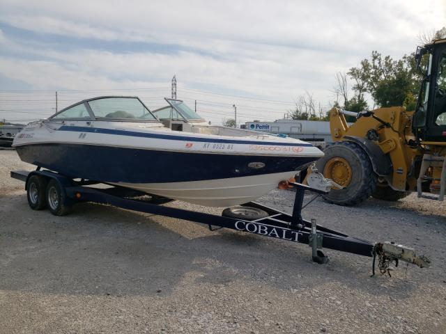 Salvage boats for sale at Louisville, KY auction: 1991 Cobalt 223 Condur