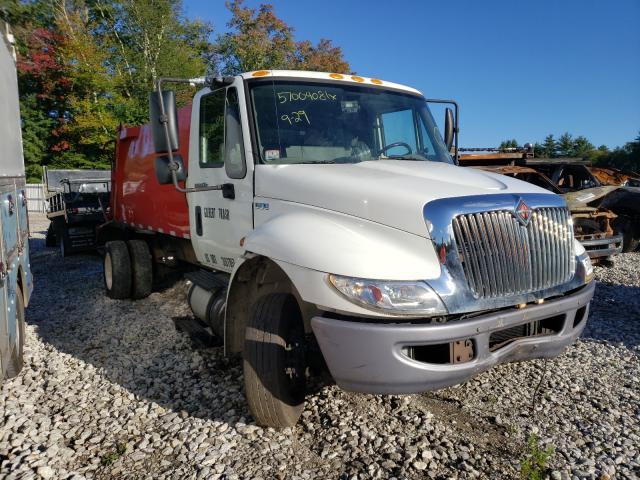 Salvage trucks for sale at Warren, MA auction: 2012 International 4000 4300
