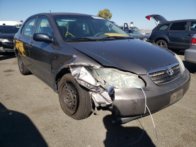 Vehiculos salvage en venta de Copart Martinez, CA: 2006 Toyota Corolla CE