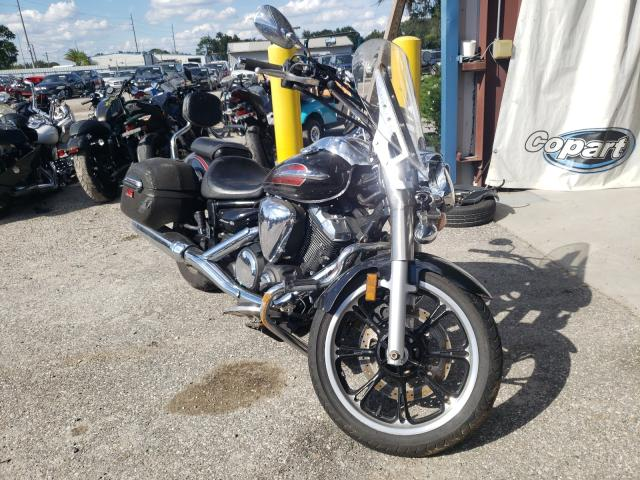 Salvage motorcycles for sale at Riverview, FL auction: 2014 Yamaha XVS950 A