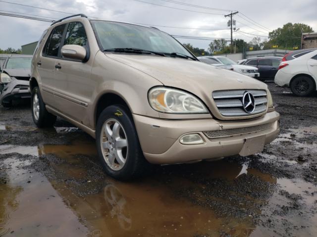 Mercedes-Benz salvage cars for sale: 2003 Mercedes-Benz ML 350