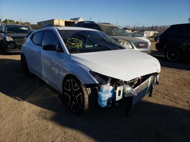 Salvage cars for sale from Copart San Martin, CA: 2021 Hyundai Veloster N
