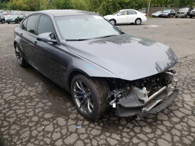 BMW Vehiculos salvage en venta: 2015 BMW M3