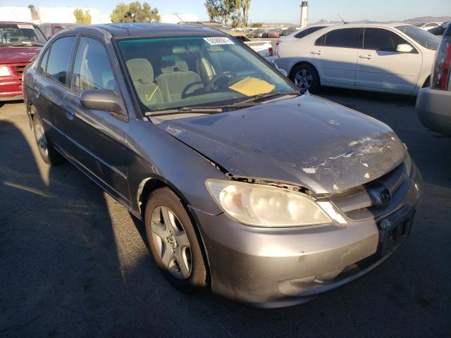 Vehiculos salvage en venta de Copart Martinez, CA: 2005 Honda Civic EX