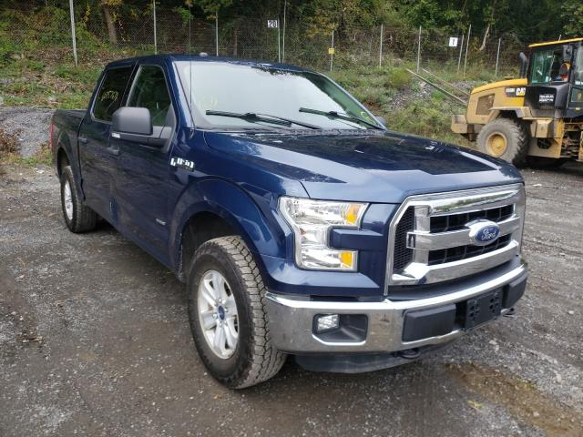 Salvage cars for sale from Copart Marlboro, NY: 2015 Ford F150 Super