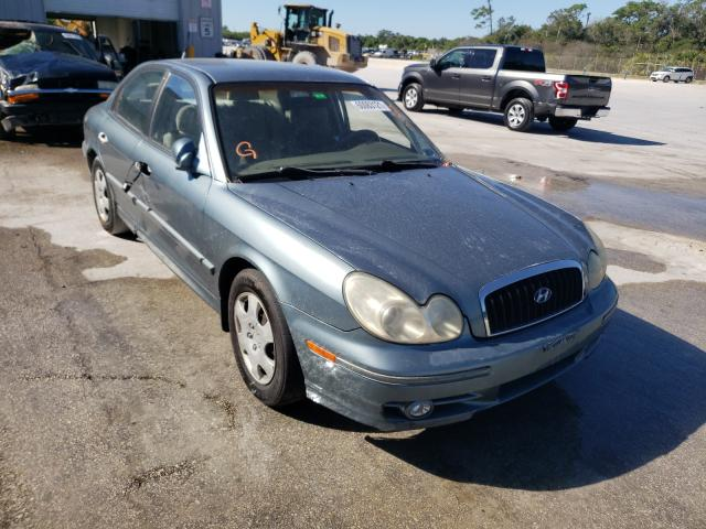 Salvage cars for sale from Copart Fort Pierce, FL: 2004 Hyundai Sonata GL
