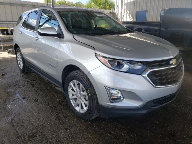Salvage cars for sale from Copart Orlando, FL: 2021 Chevrolet Equinox LT