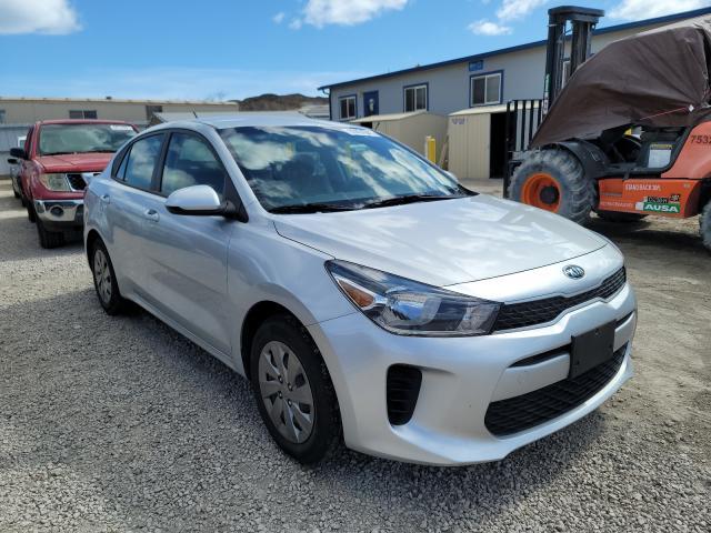KIA salvage cars for sale: 2020 KIA Rio LX