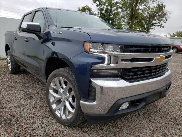 Salvage cars for sale from Copart Central Square, NY: 2021 Chevrolet Silverado