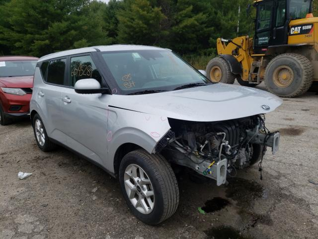 Salvage cars for sale from Copart Lyman, ME: 2021 KIA Soul LX